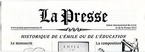 "Petit journal ""La Presse"""