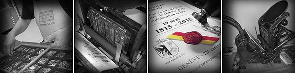 L'Atelier Presse de l'Association Plan Vert fête les 150 de l'entrée de Genève dans la Confédération suisse.