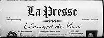 """Le petit journal """"La Presse"""""""