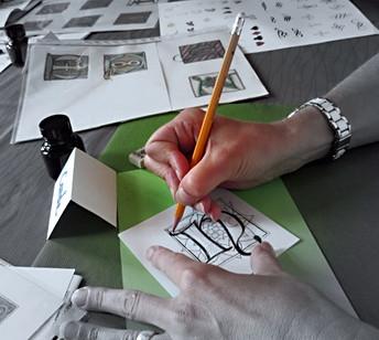 Stage de calligraphie et d'enluminure 2019