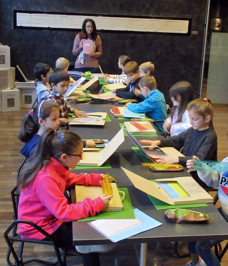 Classe au musée de la Fondation Martin Bodmer