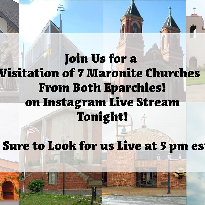 Live Stream 7 Churches Visitation