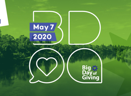 Save the date: May 7 is Big Day of Giving