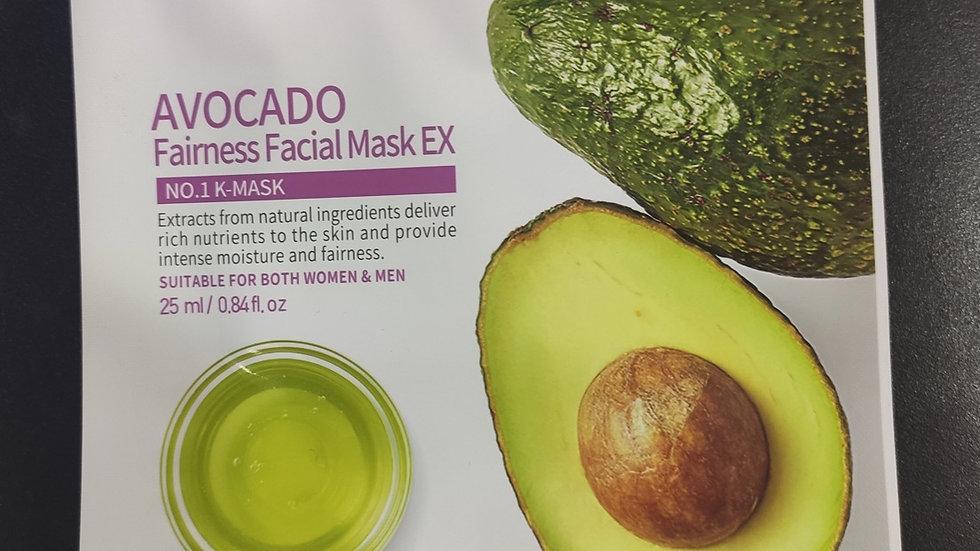 Avocado Sheet Mask by Mirabelle