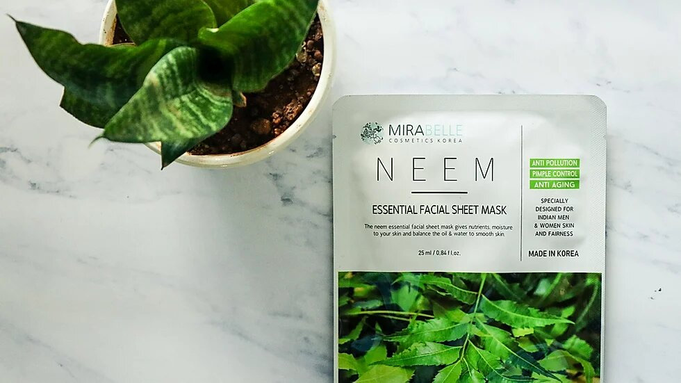 Face Sheet Mask Combo(Neem and Honey)
