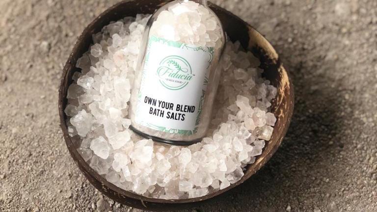 Bath salt and foot soak by Fiducia