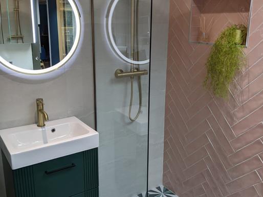 Bathroom Showroom Displays Upgrade!