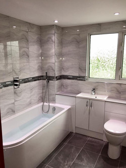 New Bathroom in Hedge End