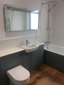 Bathroom with Fitted Furniture
