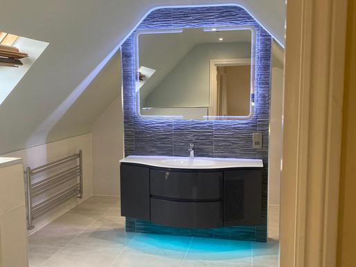 Beautiful new bathroom in Warsash