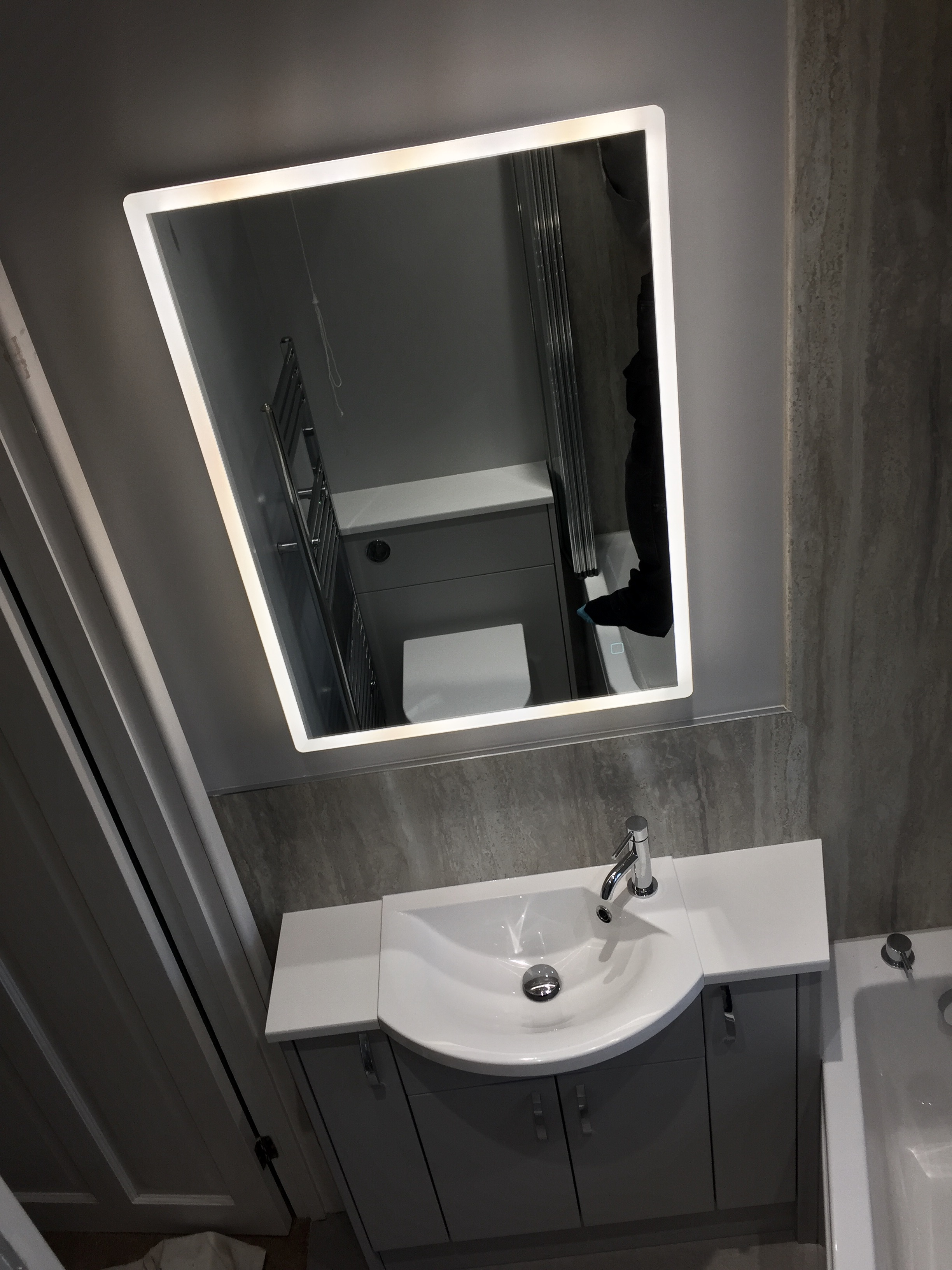 Bathroom Mirror in Hedge End