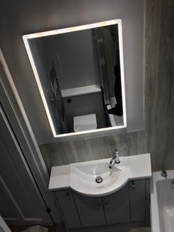Bathroom Mirror in Hedge End