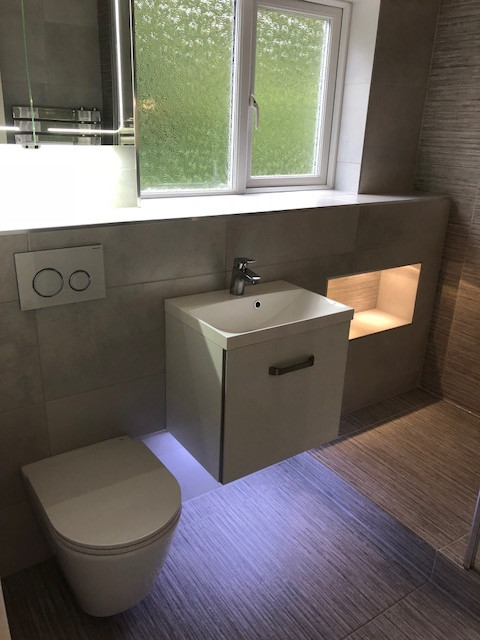 Bathroom in Hedge End, Southampton