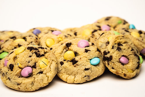 Chocolate Chip Easter Cookies