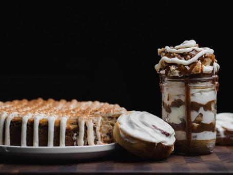 Cinnamon Roll Cheesecake!