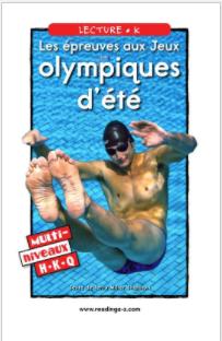 Les épreuves aux Jeux olympiques d'été.p
