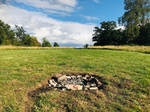 Magical place  for a firepit on a Summer's eve.