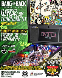 Bang Back Pinball Lounge - Project Pinball Charity Tournament