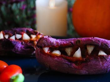 monster mashed purple yams