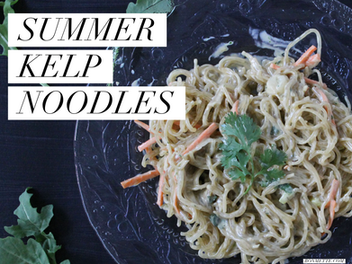 summer kelp noodles