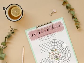 september habit tracker freebie