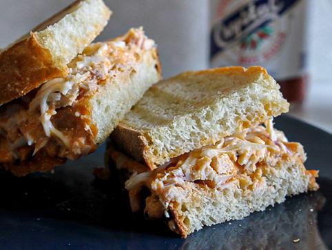 buffalo tuna melt sandwich
