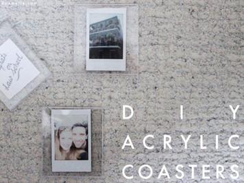 diy acrylic coasters