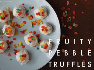 fruity pebble truffles