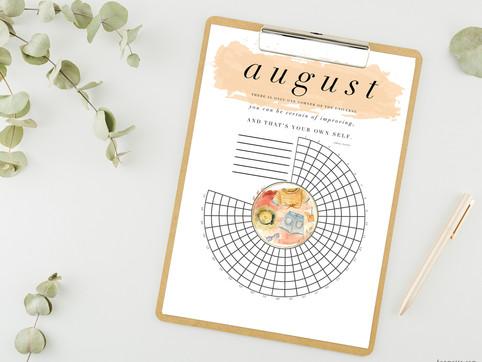 august habit tracker download