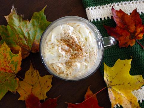 caramel apple latte