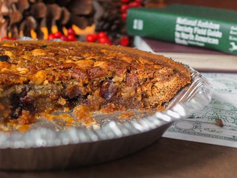 trail mix pecan pie