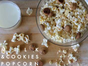 milk & cookies popcorn