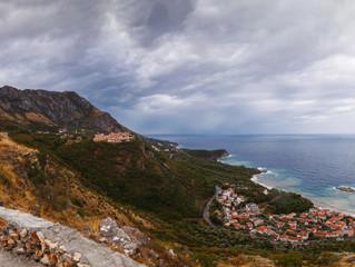 Черногория. Вид на остров Святой Стефан.