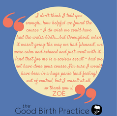 Zoe, first time Mum, hospital birth