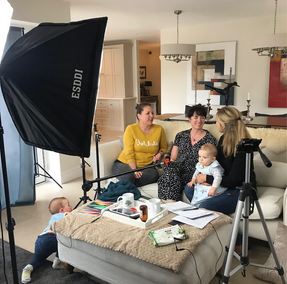 An afternoon filming + a great reminder that equipping yourself for parenting is not an indulgence..