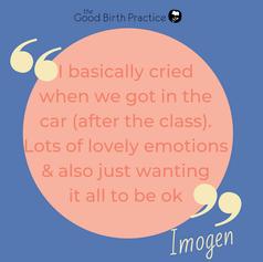 Imogen - first time Mum