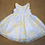 Thumbnail: Janie & Jack Party Dress with Sweater - Yellow - 6-12 months