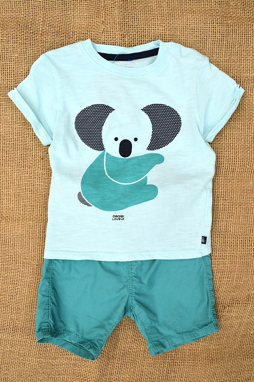 Obabi Outfit - Green - 6M