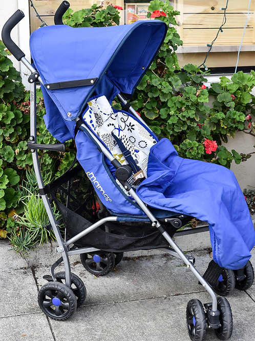 Mamas & Papas Swirl Umbrella Stroller W/Insert & Cover