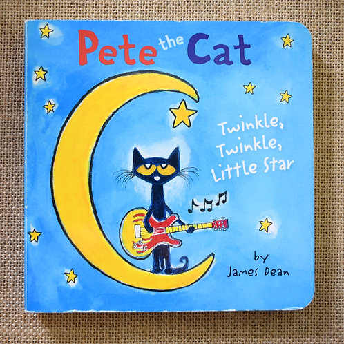 Pete the Cat - Twinkle Twinkle Little Star by James Dean