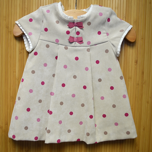 Mayoral Dress - Brown - Size 12M