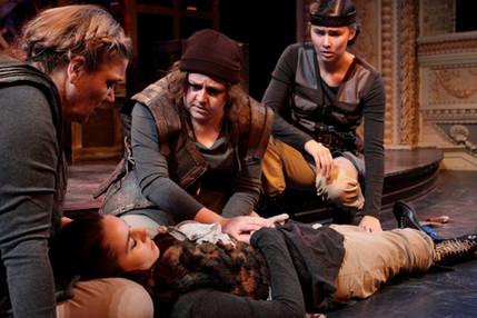 Captain Fluellen in Theater at Monmouth's HENRY V