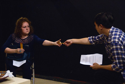 Amy in The Greenfield Collective's THE MAGNUS EFFECT