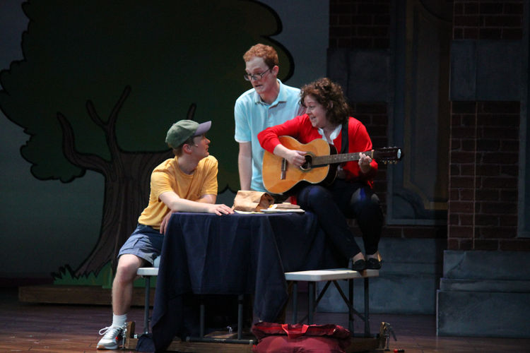 Mom in Walnut Street Theatre for Kids' FLY GUY: THE MUSICAL