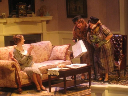 Mrs. McCutcheon in Susquehanna University's THE MAN WHO CAME TO DINNER