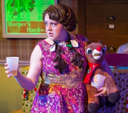 Betty Jean in Walnut Street Theatre's WINTER WONDERETTES