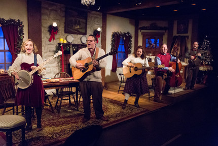 Ensemble of Walnut Street Theatre's A CHILD'S CHRISTMAS IN WALES