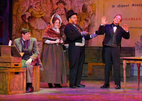 Solicitor in Walnut Street Theatre's A CHRISTMAS CAROL