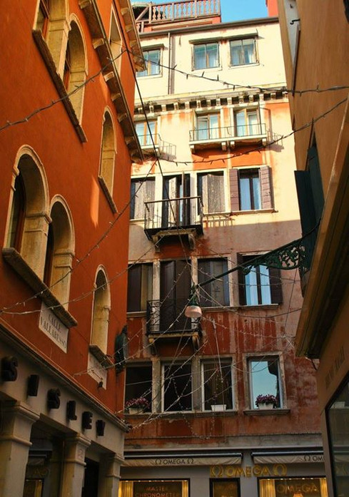 perdiendome entre las calles de Venezia.