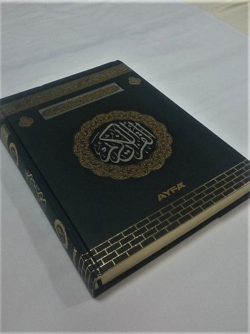クルアーン・ブラック大 AL-Quran Black-TUR-b